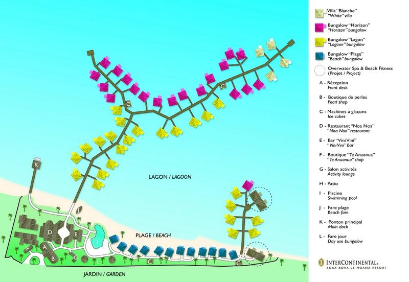 Intercontinental Le Moana Map