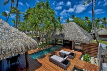 Villa com piscina particular Rangiroa Kia Ora Resort