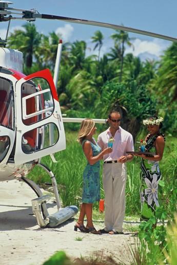 Traslado de Helicoptero Tahaa Island