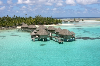 Bangalo sobre as aguas Tikehau Pearl Beach Resort