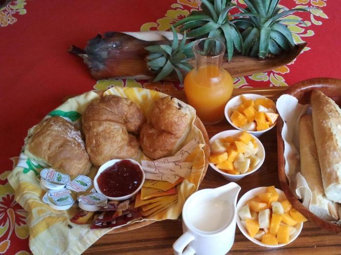 Pensão Village Temanuata Cafe da Manha