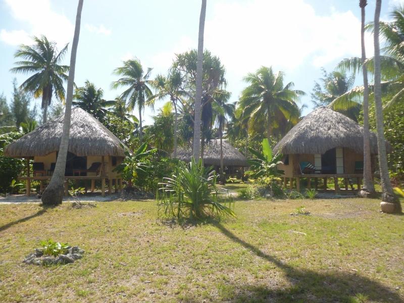 Pensão Chez Alice et Raphael - Bangalôs Típicos Polinésios