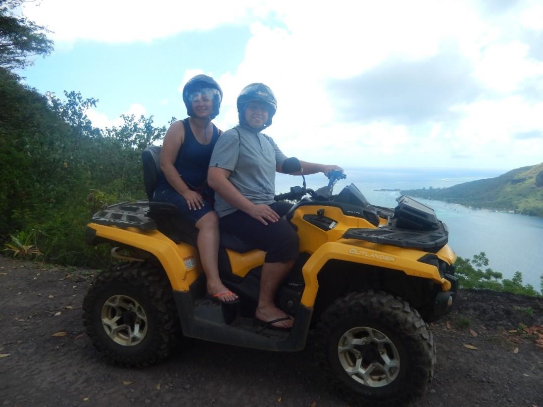 Quadriciclo (ATV QUAD) - Passeio Imperdível Moorea - Lua de Mel Polinésia Francesa